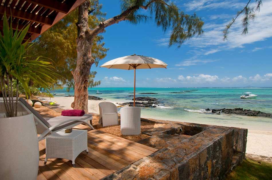 Location Villa Ile Maurice Sur La Plage De Roches Noires