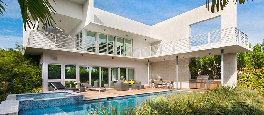 Location villa de luxe miami beach floride for Location villa miami avec piscine
