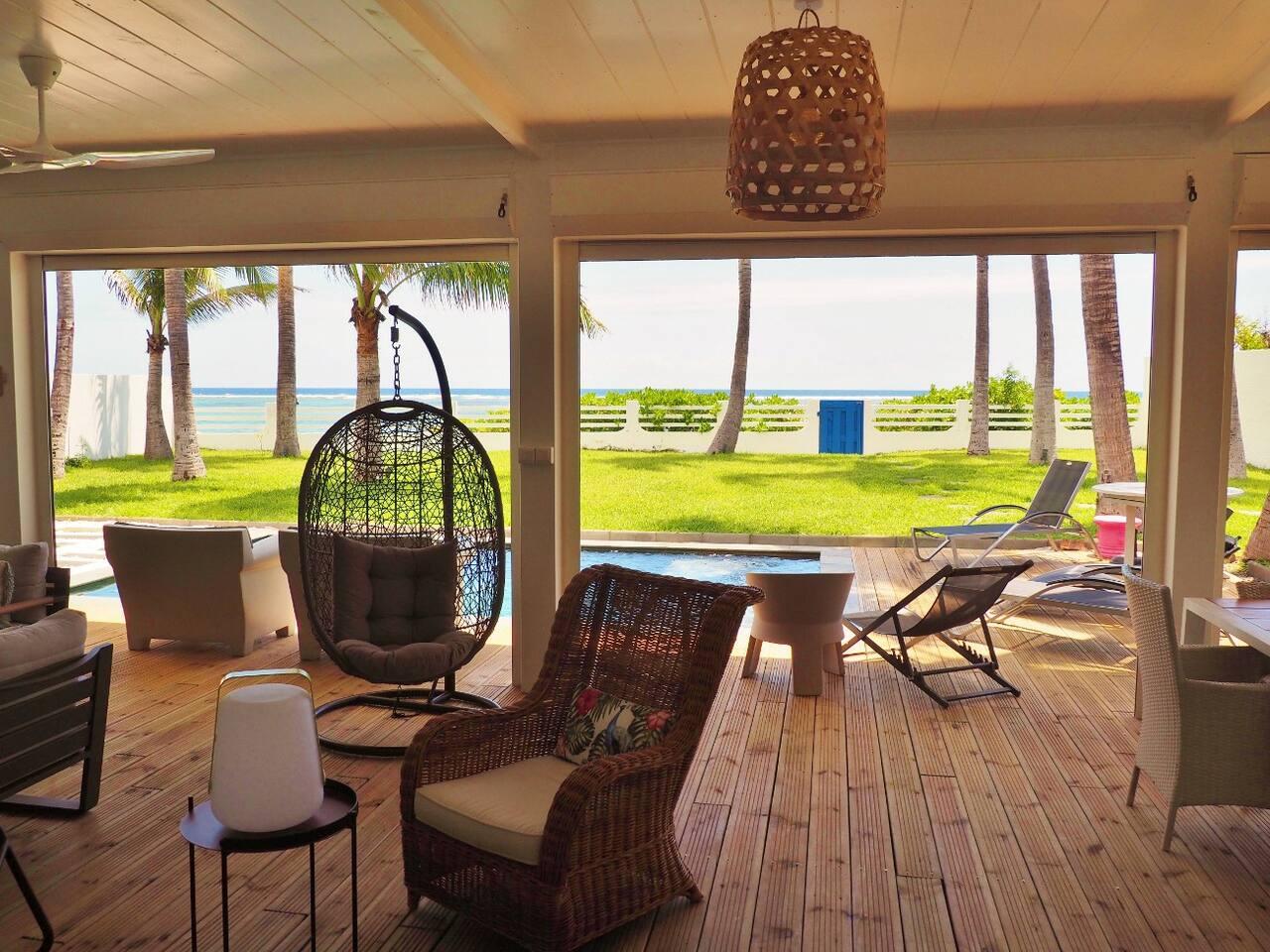 Salle De Bain La Reunion ~ location villa saint gilles les bains face la plage de la saline