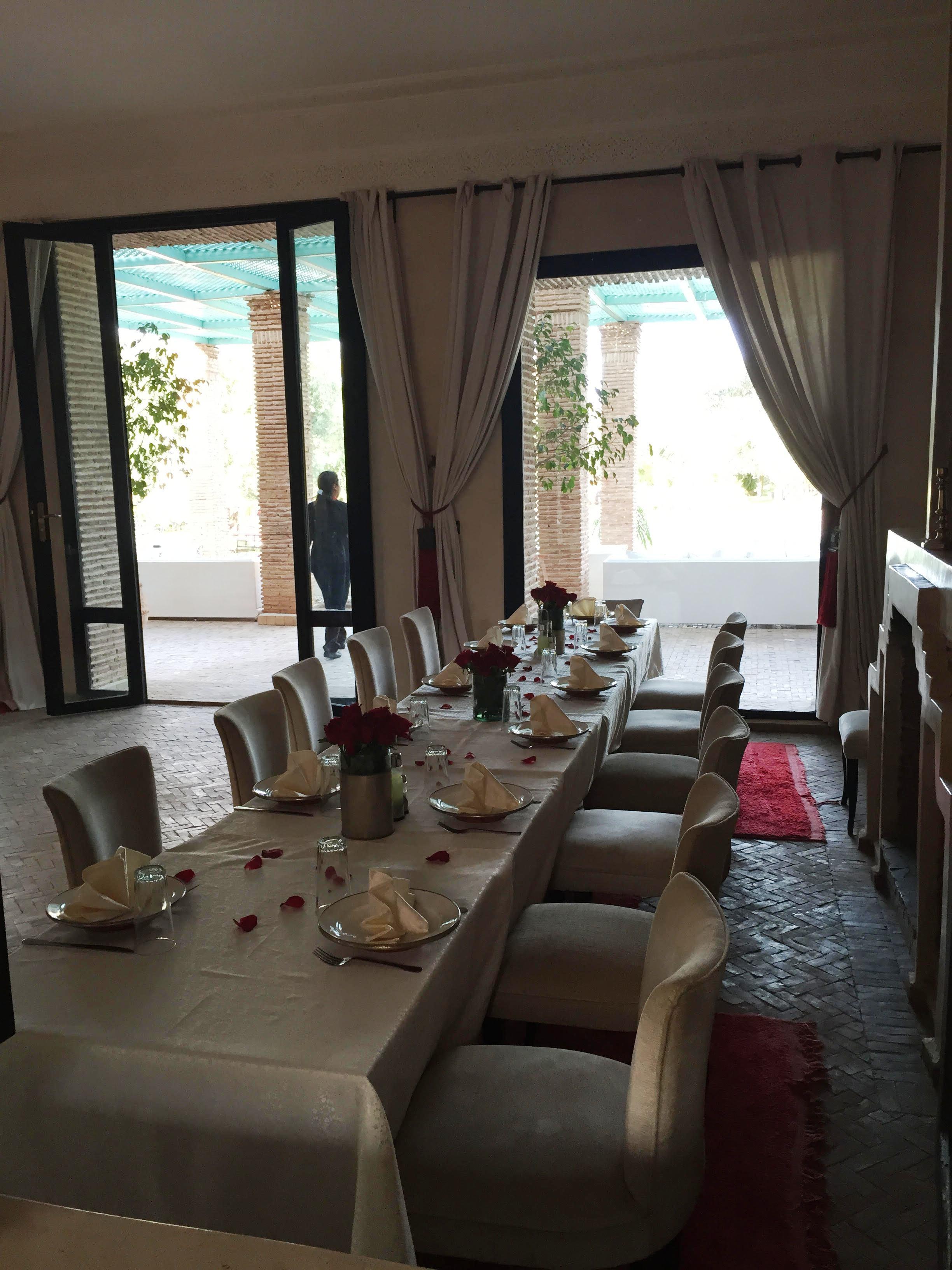 Maison d hote marrakech avec piscine maison moderne for Chambre d hote marrakech
