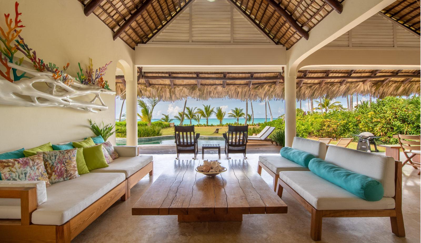 Location villa de luxe sur la plage las terrenas - Villa kimball luxe republique dominicaine ...