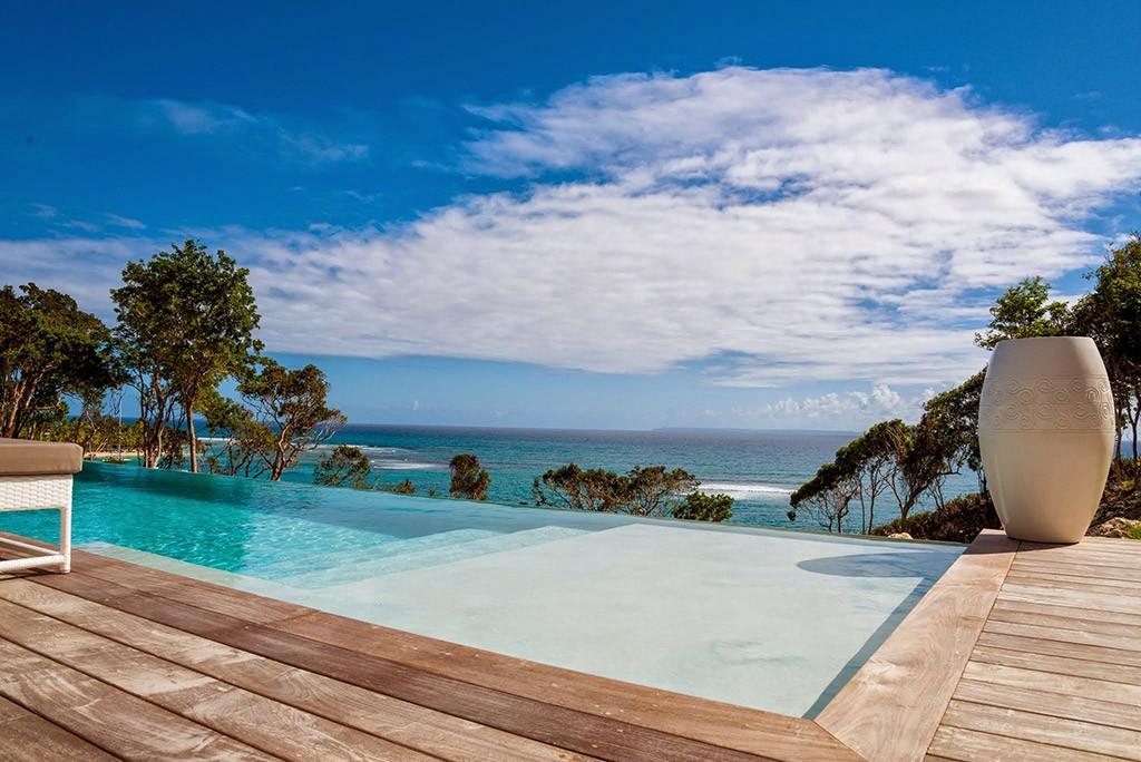 guadeloupe location villa luxe sainte anne avec piscine privée