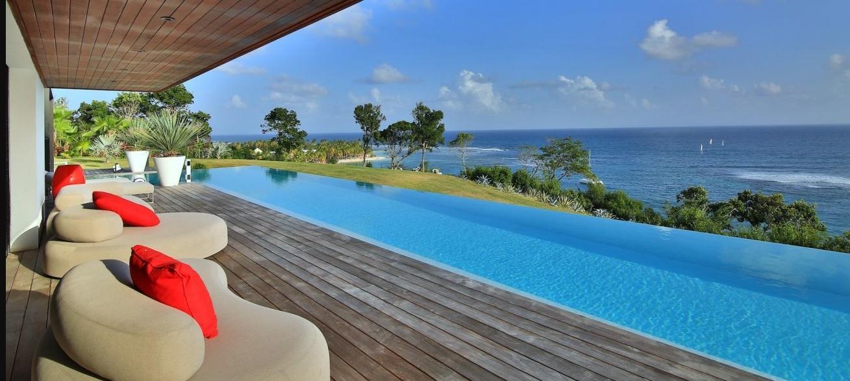 Location villa guadeloupe luxe sainte anne avec piscine priv e for O piscine de martin