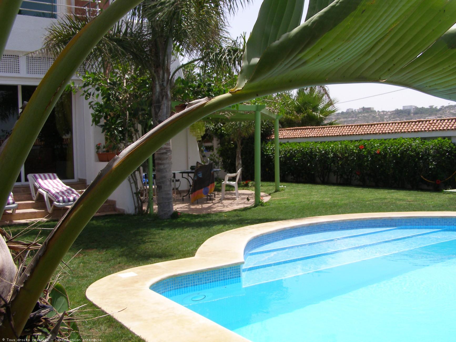 chambres d hà tes el jadida dans une villa avec avec piscine