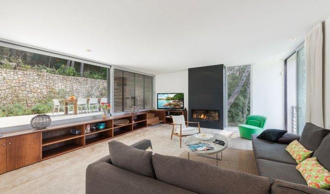 location villa majorque piscine priv e port pollensa les bal ares. Black Bedroom Furniture Sets. Home Design Ideas
