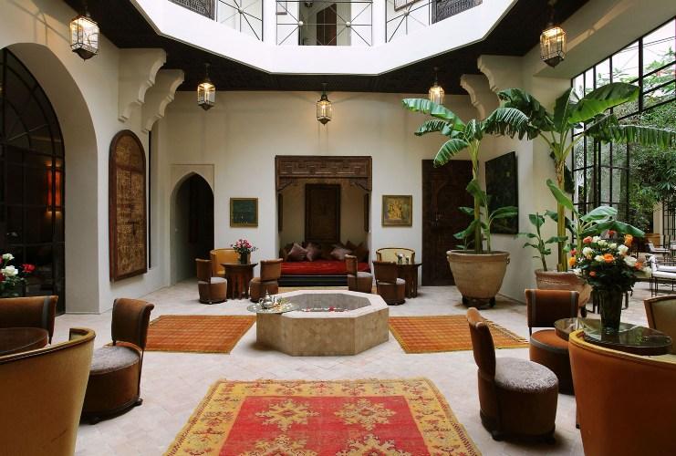 Location riad marrakech en exclusivit avec piscine pour for Riad avec piscine marrakech