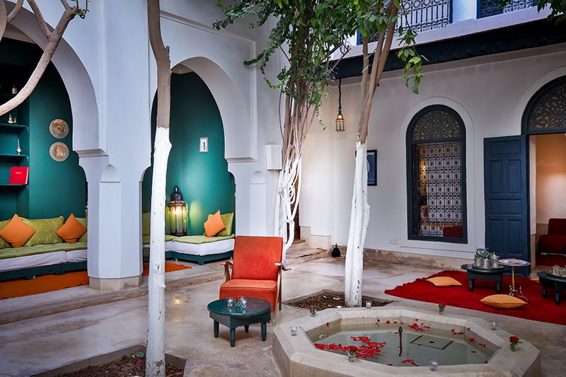 location riad en exclusivite marrakech