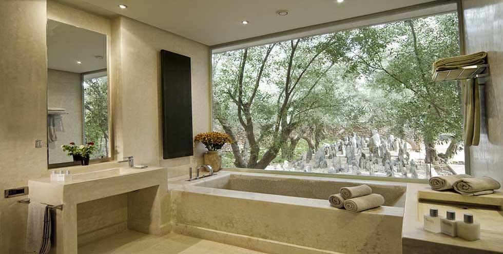 Location villa de luxe marrakech avec piscine for Hotel design zelande