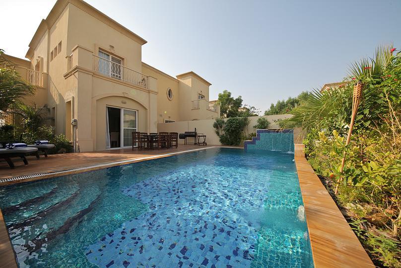 Location Villas Dubai Belle Villa 4 Chambres Piscine Et