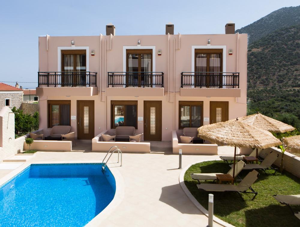 grece location vacances maison piscine cr te. Black Bedroom Furniture Sets. Home Design Ideas