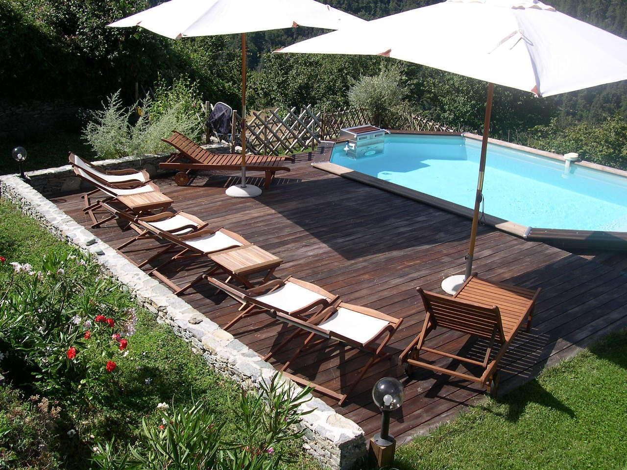 Location maison de charme avec piscine en corse - Location villa avec piscine corse ...