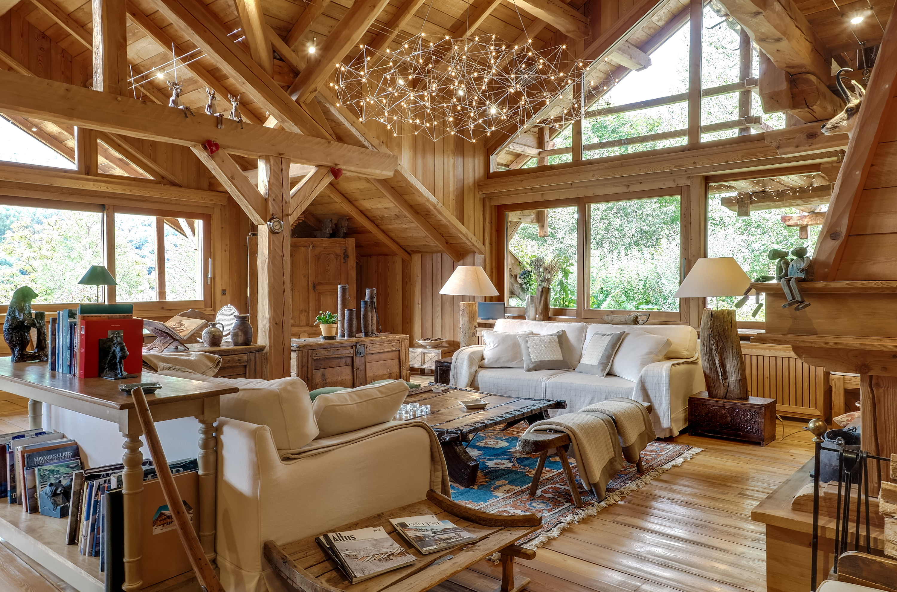 Location chalet luxe serre chevalier pied des pistes spa services for Location luxe