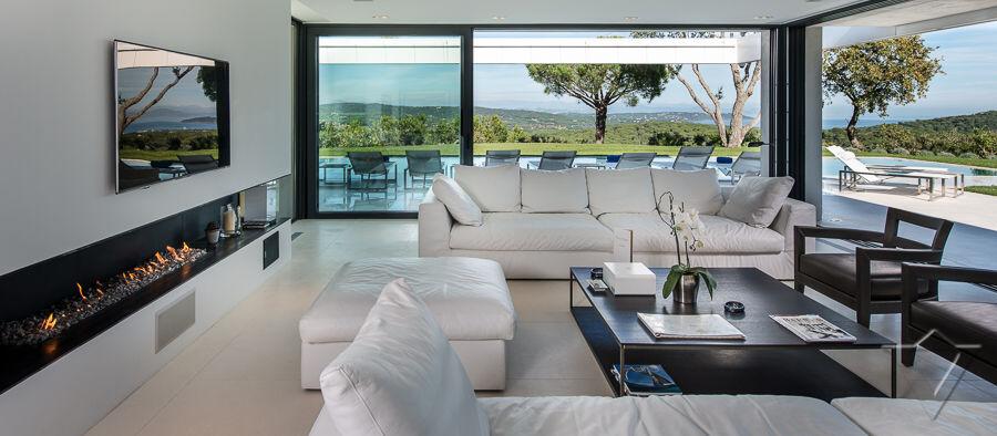 Villa De Luxe Plan : Location villa luxe saint tropez près la plage de l