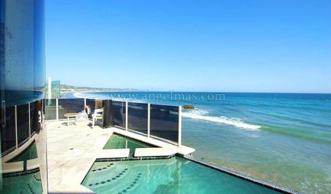 Location Villa Sur La Plage De Malibu Los Angeles En