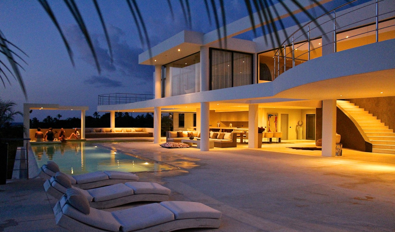 Location villa luxe republique dominicaine las terrenas 200 m de for Location luxe