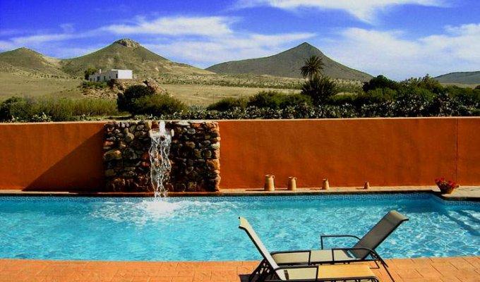 Location Vacances Andalousie Piscine Chambres d\'Hôtes Rodalquilar[....]