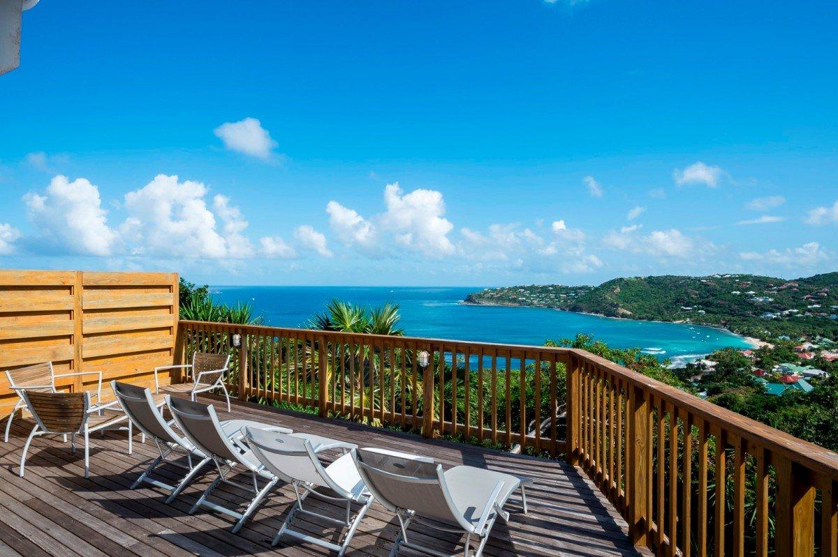 Location vacances st barth l my villa de luxe sur la plage for Location luxe vacances