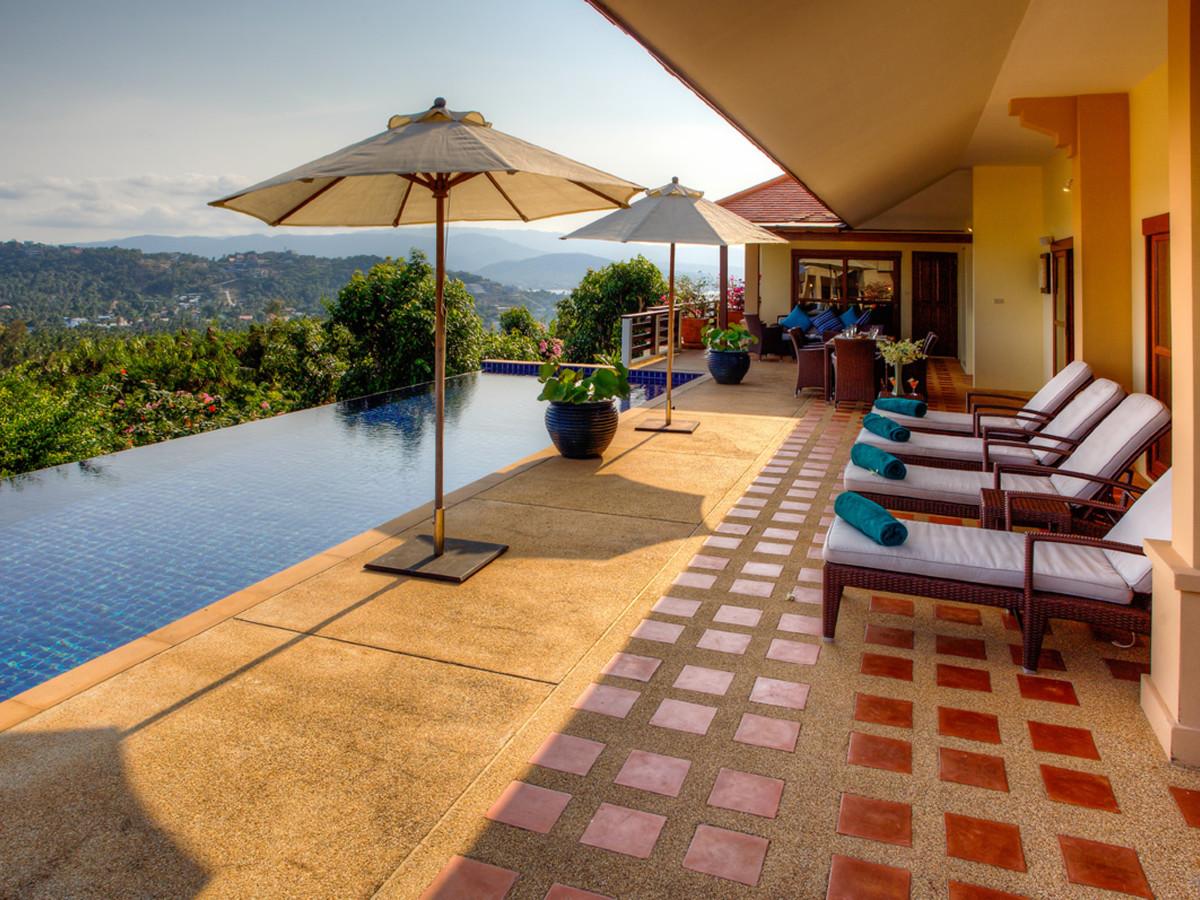 Thailande location vacances villa koh samui bophut for Location luxe vacances