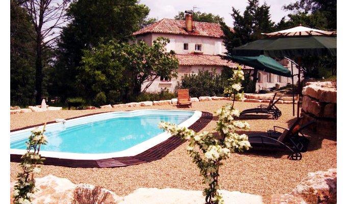 Chambres d 39 hotes ales uzes avec piscine location - Chambre d hote languedoc roussillon avec piscine ...