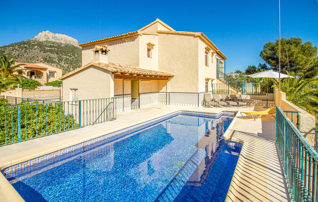 Location villa Calpe piscine privée Alicante (Costa Blanca)