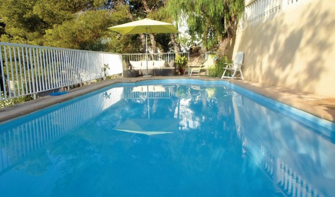 Location villa Alicante (Costa Blanca) piscine privée El Campello