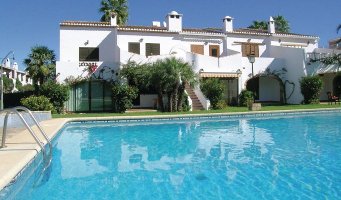 Location appartement Alicante (Costa Blanca) piscine Denia