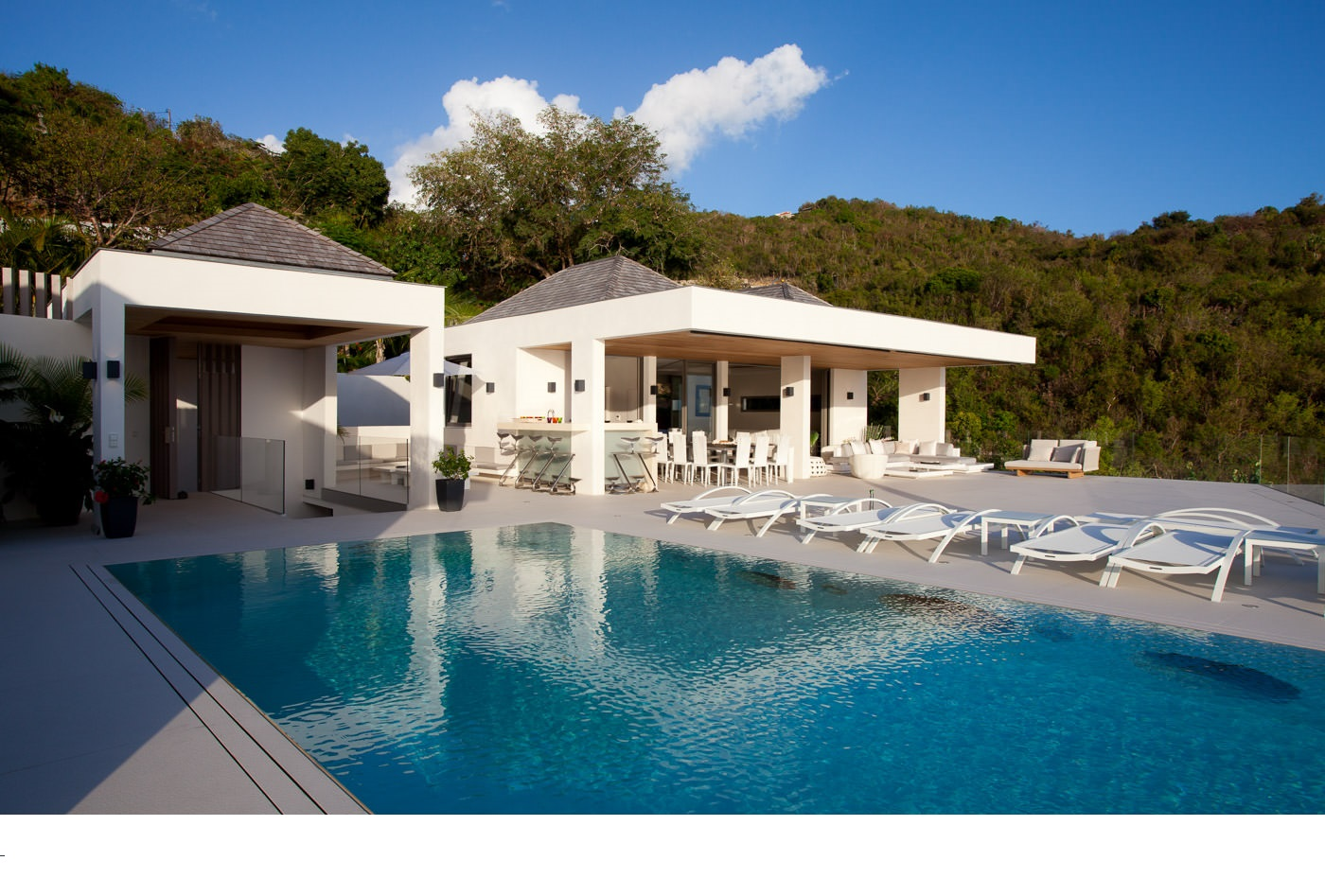 Location Villa Saint Barthelemy Antilles