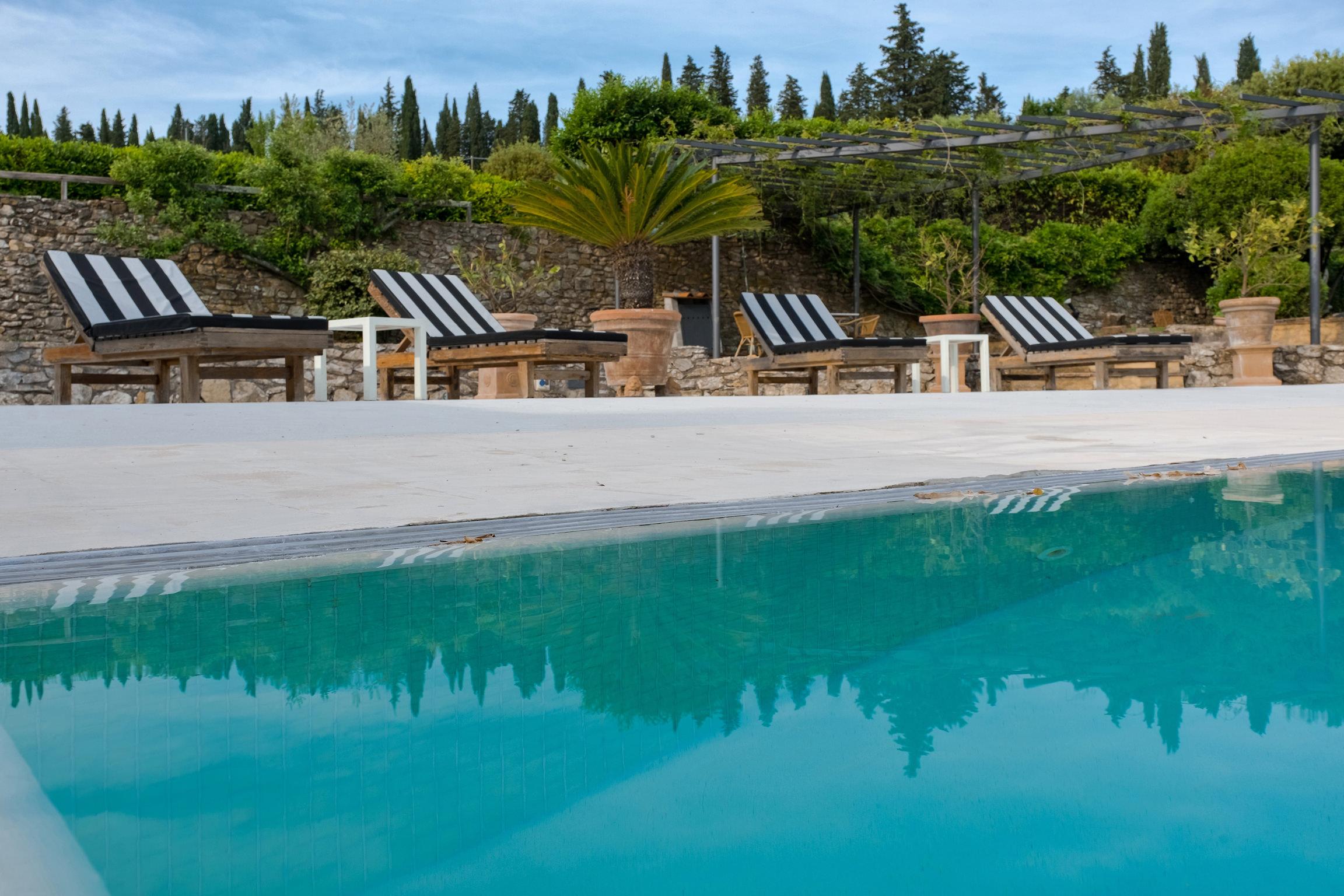 Location villa de luxe florence chianti piscine priv e for Location villa toscane piscine