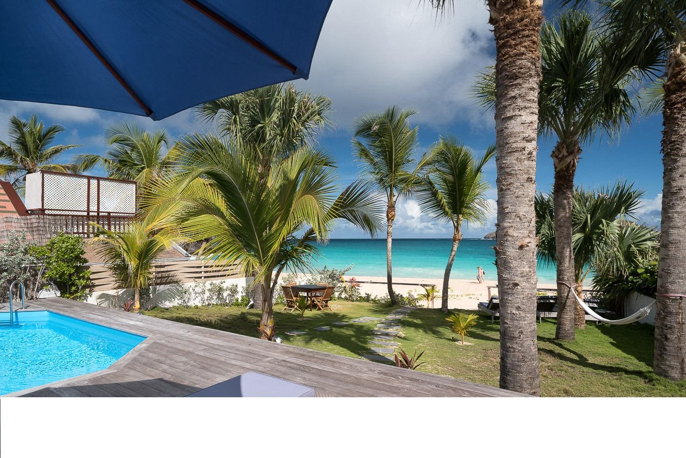 Location vacances st barth l my villa sur la plage de - La villa rahimona en nouvelle zelande ...