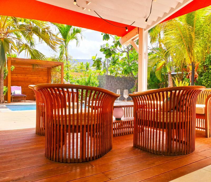 Location villa saint gilles les bains 7 mins de la plage de boucan for Location villa