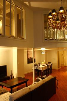 location d 39 un appartement duplex de luxe manhattan new york location. Black Bedroom Furniture Sets. Home Design Ideas