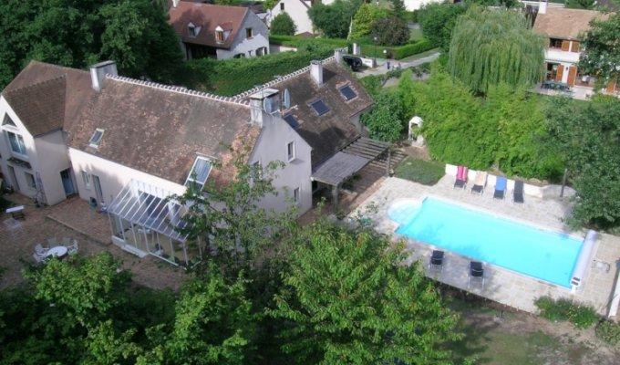 Ile de france location vacances gite piscine for Piscine fontainebleau