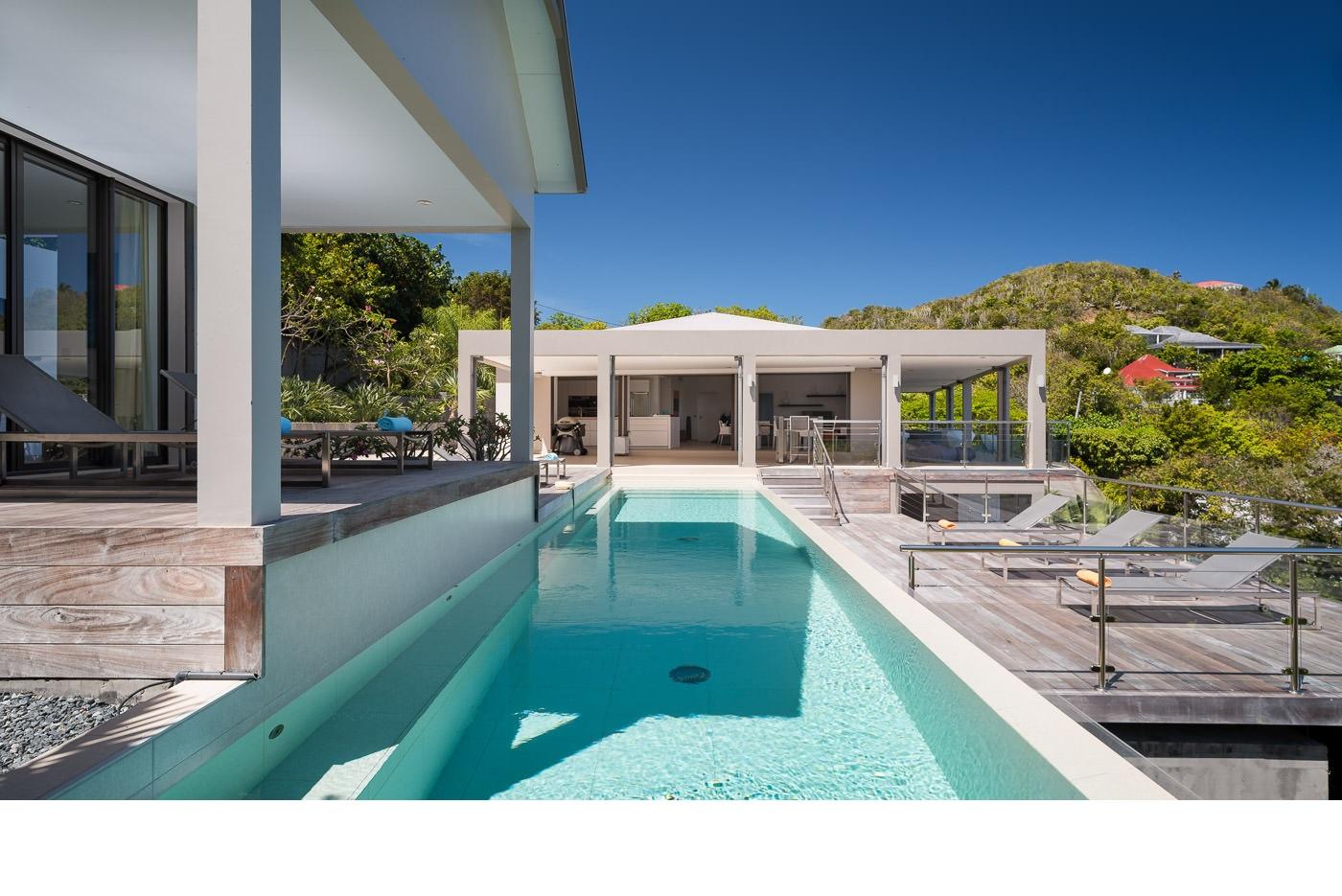 Location vacances st barth l my villa de luxe avec - Villa de vacances luxe location think ...