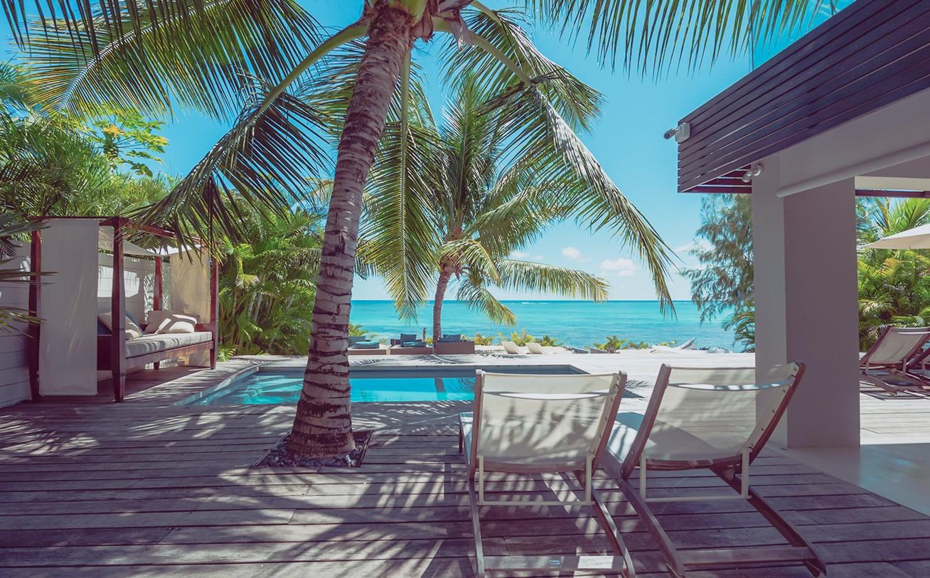 ... Location Villa Ile Maurice Pieds Dans Lu0027eau à Pereybere Près De Grand  Baie