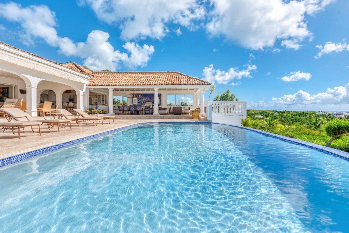 Location villa de luxe piscine priv e saint martin terres for Piscine de luxe