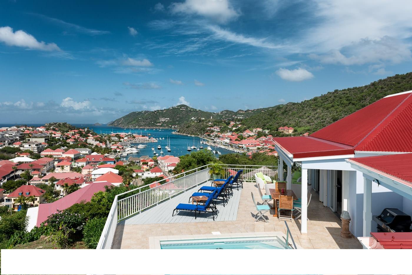 Location Villa Saint Barthelemy Antilles