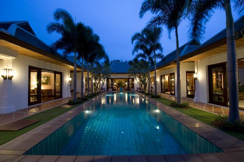 Villa de luxe en bord de mer koh samui maenam beach - Complexe mandala beach villas koh samui en thailande ...