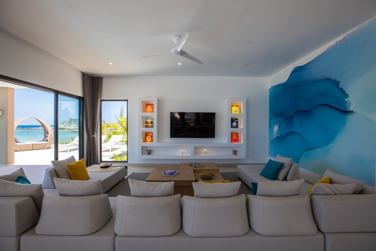 Sint Maarten Location Appartement vue mer Beacon Hill  D.W.I