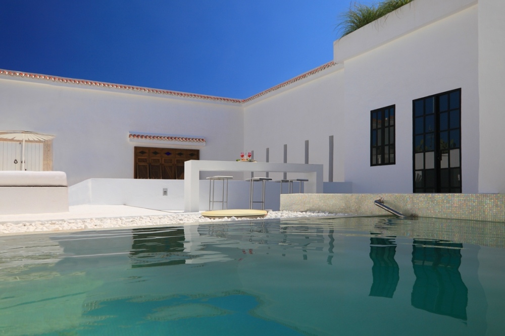 Nabeul nabeul villa location villa riad nabeul avec for Piscine demontable tunisie
