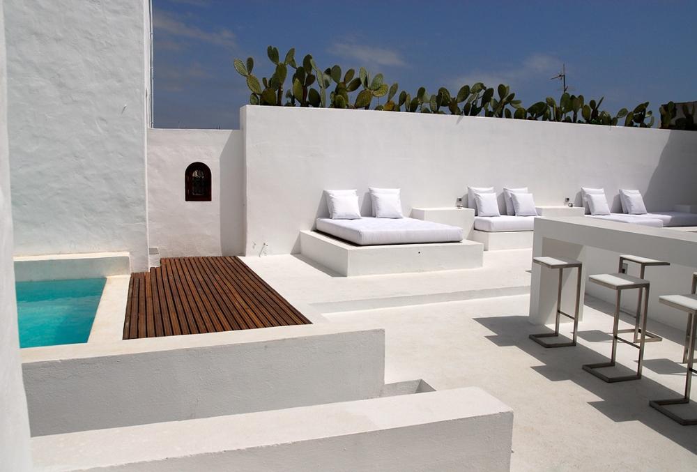 Nabeul nabeul villa location villa riad nabeul avec for Plan architecture villa tunisie