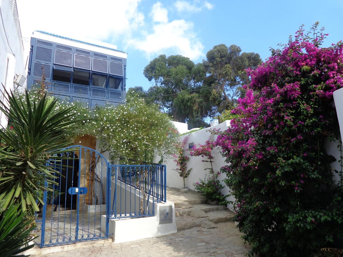 Tunisie location vacances villa sidi bou said for Location saisonniere villa