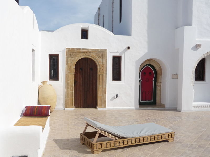 D coration maison djerba for Architecture tunisienne maison