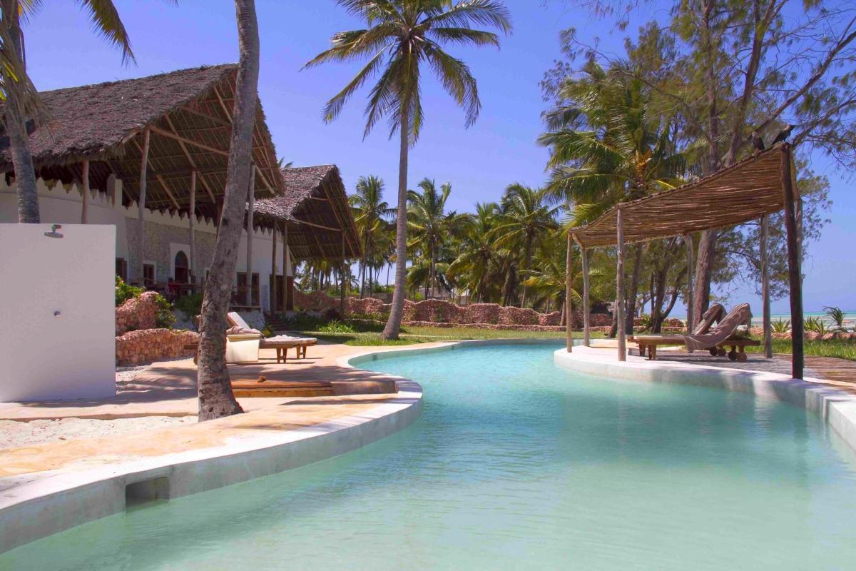 Location villa zanzibar michamvi pingwe beach avec for Canape zanzibar