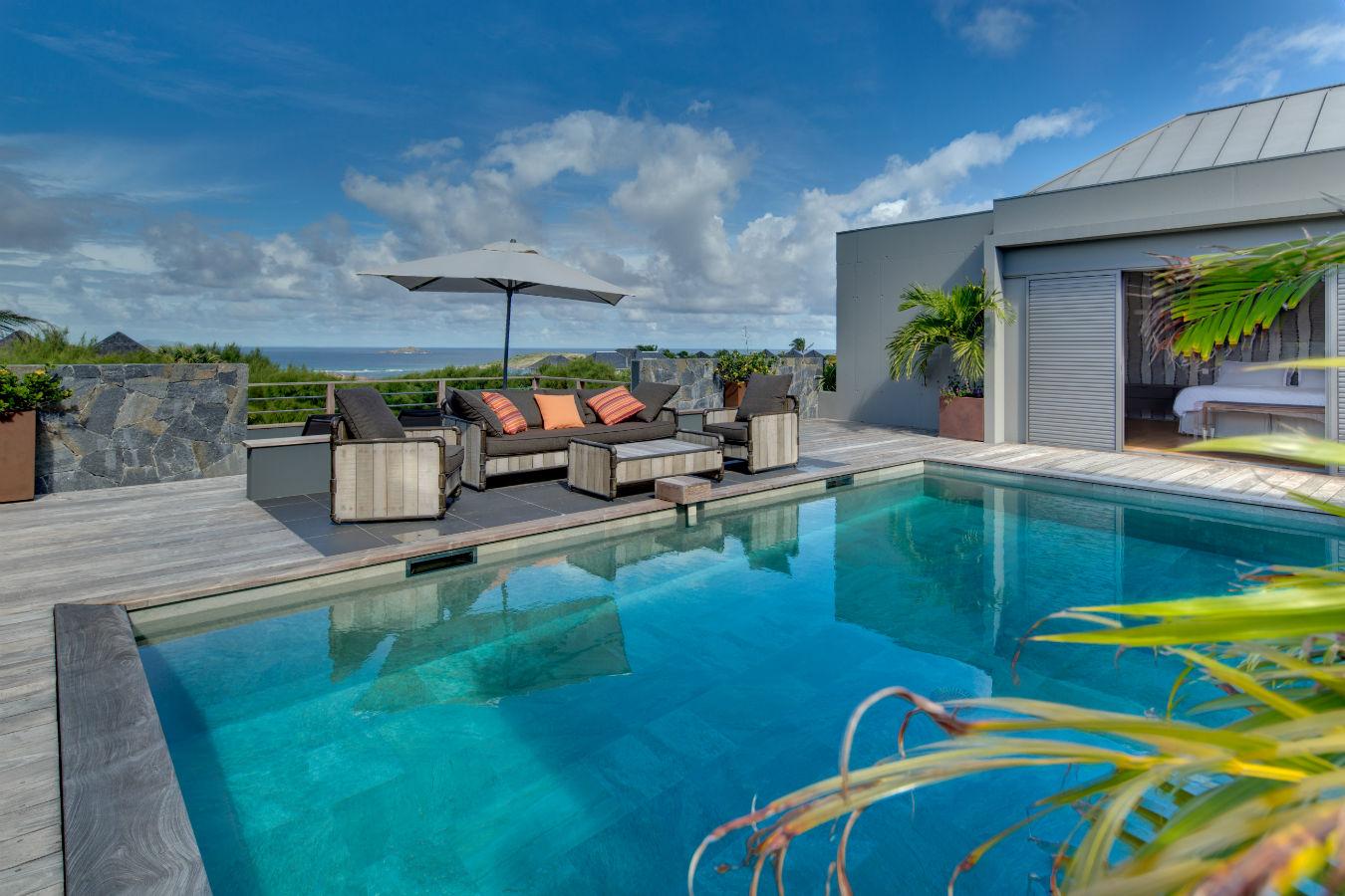 Location villa de luxe st barth avec piscine priv e - Location de piscine privee ...