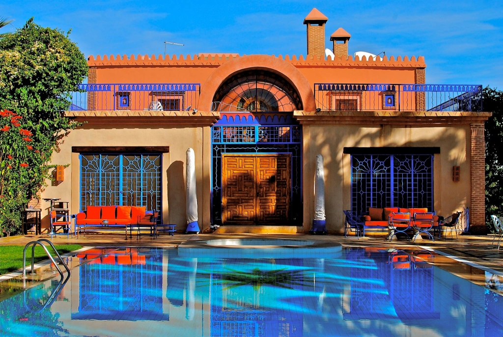 Location villa de luxe marrakech avec piscine priv e for Riad piscine privee marrakech