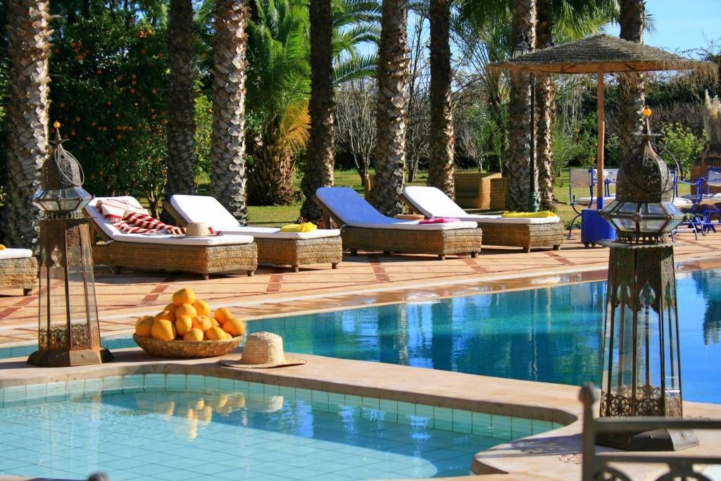 Location Villa De Luxe Marrakech Avec Piscine Priv 233 E