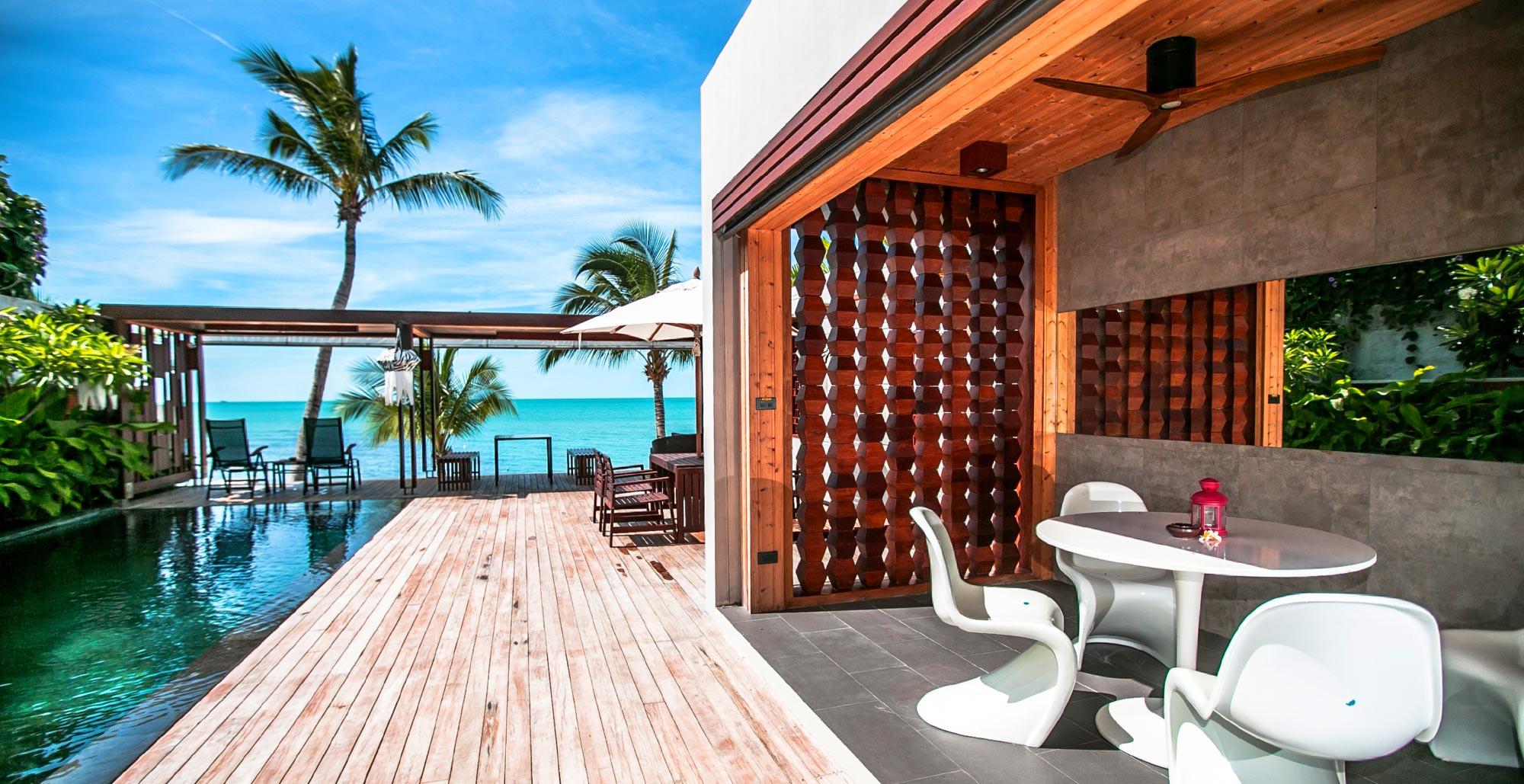 Thailande Location Vacances Villa Koh Samui 3 chambres avec Piscine privée  en résidence plage à Lamai
