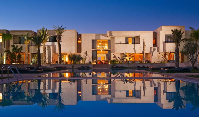 Rception Prive  Marrakech Dans Un Htel De Luxe Avec Piscine