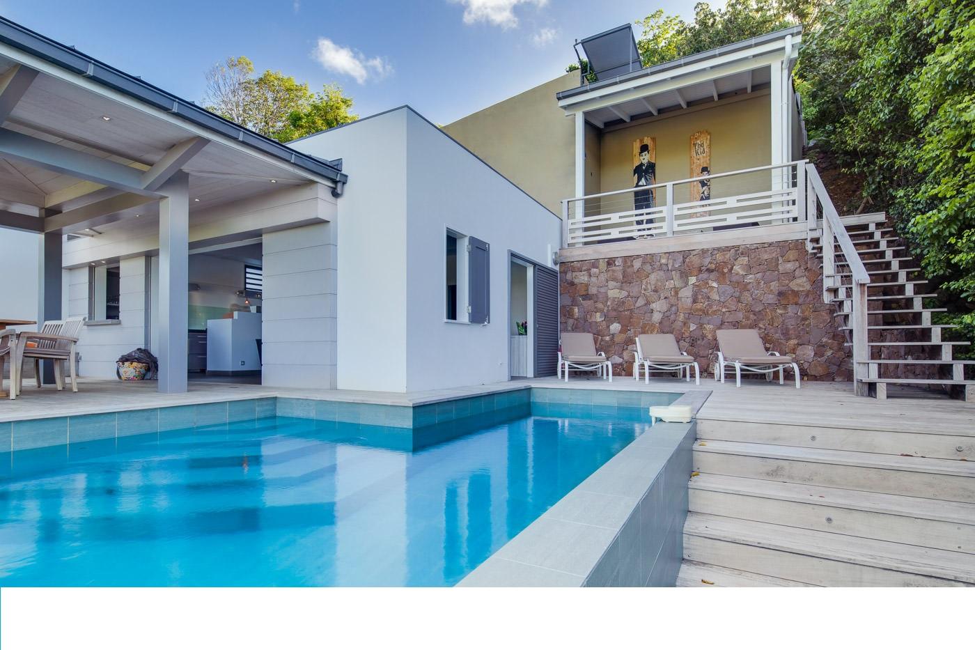Location vacances st barth l my villa de luxe avec for Villa de vacances avec piscine privee