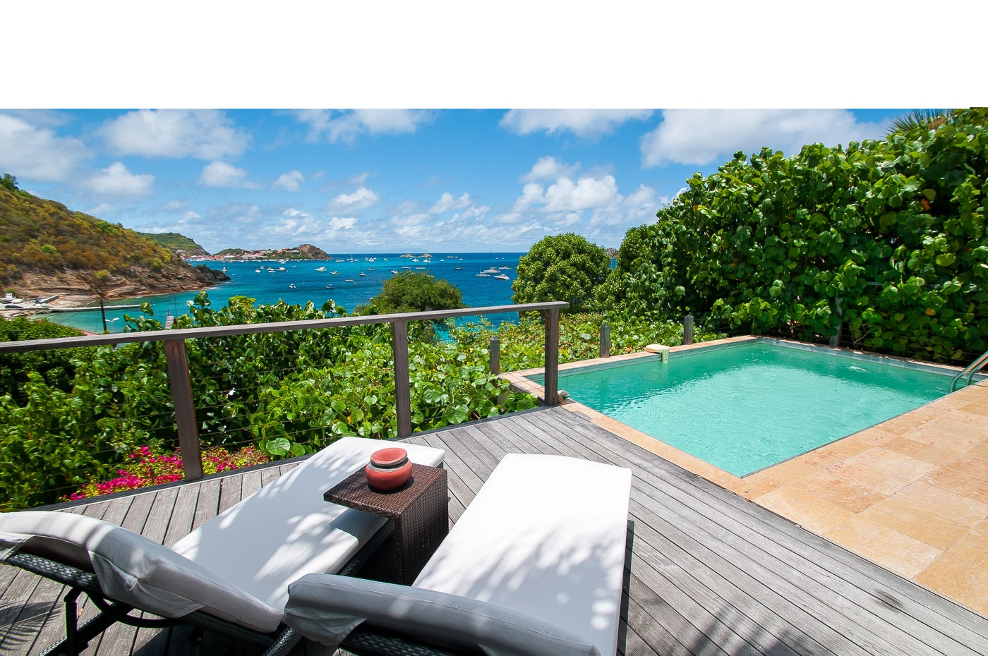 Location st barth l my bungalow avec piscine priv e et for Piscine privee com